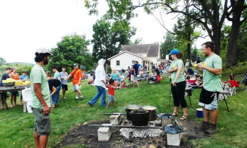 A good time was had by all at the Corn Boil.