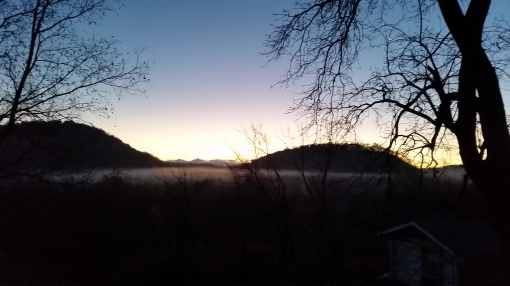 Vermont Valley morning fog