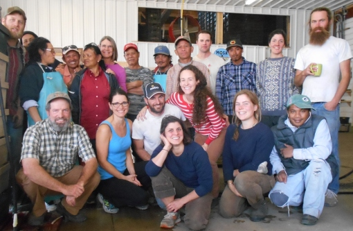 Vermont Valley crew 2015